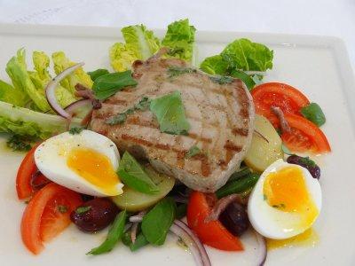 "Grilled Tuna ""Nicoise Style"""