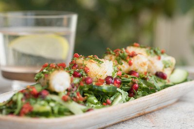 Squid is such a great and underused ingredient, you can buy fresh from your fishmonger or use frozen. This summery squid is great on the BBQ –to Zing it up serve with a tangy lime and chilli dressing!