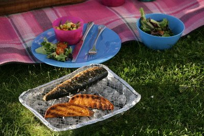 A yummy recipe for a whole mackerel on the BBQ. Mackerel is one of the most sustainable and healthy fish which is high in Omega 3. This is a quick and easy recipe
